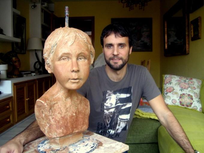 Escultura de Rafael